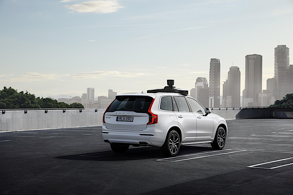 254707 Volvo Cars and Uber present production vehicle ready for self driving