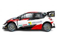 Toyota Gazoo Racing World Rally Team en el Tokyo Auto Salon para lanzar la temporada 2020 WRC