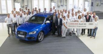 Audi celebra un millón de Audi Q5 producidos en Ingolstadt